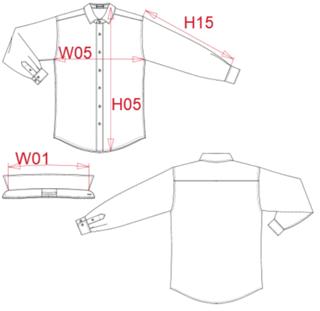 camisa hombre medidas