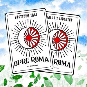Nᴏ ʟᴏ ᴅɪɢᴏ ʏᴏ, ʟᴏ ᴅɪᴄᴇɴ ʟᴀs ᴄᴀʀᴛᴀs. 🤭💙♥️💚 ¡OPRE ROMA! ¡SALUD Y LIBERTAD! 👏👏☸️♥️ . . . #opreroma #sastipentali #saludylibertad #pueblogitano #puebloromani #romapeople #gypsy #gipsy #ruedagitana